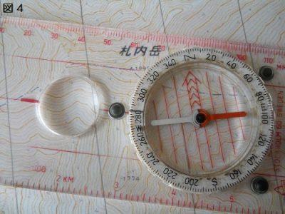 図4正しい道を計測改