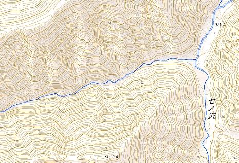 図8沢地形