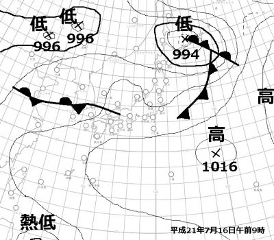 H21.7.16天気図