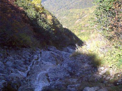 写真4 源頭部の例~エサオマントッタベツ川